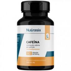 Termogênico Cafeína 500mg 60 Cápsulas - Nutrasix