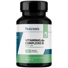 Vitamina Complexo B 100% Idr Nutrasix 30 Cápsulas
