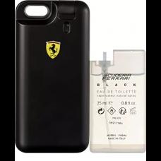 Perfume Ferrari Black Masculino EDT 25ml + Refil EDT 25ml + Capa Ferrari Black Para iPhone 6 / 6S
