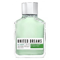 Perfume United Dreams Be Strong Masculino EDT 200ml