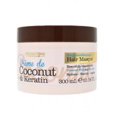 Máscara Capilar Crème de Coconut & Keratin Deep Conditioning 300ml