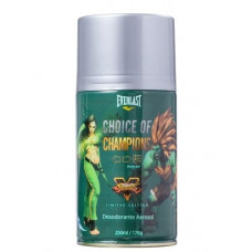 Deo Spray Everlast Choice of Champions Street Fighter Brasil Edition 250ml