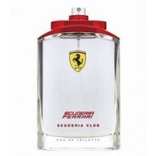 Perfume Ferrari Scuderia Club Masculino EDT 125ml TESTER