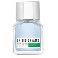 Perfume United Dreams Go Far Masculino EDT 60ml