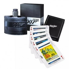 Kit Perfume 007 James Bond Masculino 50ml + Jogo De Cartas