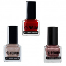 Kit 3 Esmaltes Forum (Glam, Luxery, Clutch) 9ml Cada