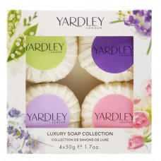 Kit Sabonetes em Barra (English Lavender + English Rose + Lily of The Valley + April Violets ) 4 x 50g cada