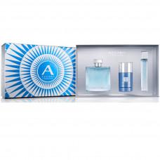 Kit Azzaro Chrome (Perfume 100ml + Deo Stick 75ml + Perfume 15ml)