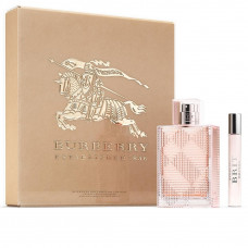 Kit Burberry Brit Rhythm Floral For Her (Perfume EDT 60ml + Pulse Spray 7,5ml)