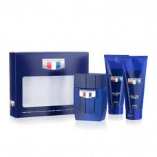 Kit Camaro Blue (Deo Colônia 100ml + Shampoo 3 em 1 100ml + Gel Pós Barba 100ml)