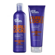 Shampoo Curly Locks 350ml + Condicionador Curly Locks 250ml