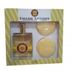 Kit English Lavender (Deo Colônia 100ml + 2 Sabonetes 60g cada)