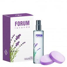 Kit Forum Lavanda (Perfume 150ml + 2 Sabonetes Barra 80g)