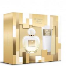 Kit Her Golden Secret (Perfume EDT 80ml + Body Lotion 75ml)