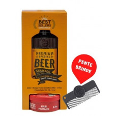 Kit Best Sellers Premium Special Beer 220 ml + Pomada Killer 70g