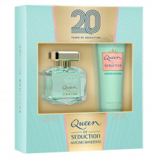Kit Queen of Seduction for Women (Perfume EDT 80ml + Body Lotion 75ml)