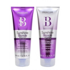 Shampoo e Condicionador Sunshine Blonde Tone Correcting 200ml cada