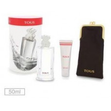 Kit Tous Feminino EDT (Perfume 50 ml + Body Lotion 50 ml + Porta Óculos)