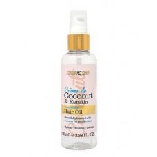 Óleo Desembaraçador Crème de Coconut & Keratin Intensive Smoothing Hair Oil 100ml