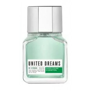 Perfume United Dreams Be Strong Masculino EDT 60ml