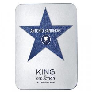 Perfume King Of Seduction Deluxe Metalbox Masculino EDT 200ml